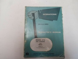 1972 International Model 270 pay scratches Operators Manual Worn stained... - $31.74