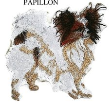 Amazing Custom Dog Portraits[Papillon] Embroidery Iron On/Sew patch [4.5... - €8,51 EUR