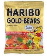 Haribo Gold Bears Gummy Candy 5 oz Bag, Case of 12 soft chew gummi bear ... - $26.99