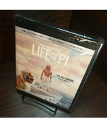 The Life of Pi (4K UHD+Blu-ray+Digital) NEW (Sealed)-Free Shipping with Tracking - $23.95