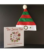 The Secret Hat Book & Santa Elf Hat Finding the Truth in Santa Claus Sig... - $29.99