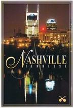 Tennessee Postcard Nashville At Night - $2.27