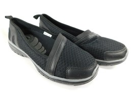 Propet Travellite Size 7 M (B) EU 37 Women's Slip-On Shoes Periwinkle BlackW3248