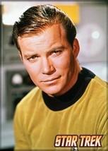 Star Trek: The Original Series James T. Kirk Portrait Magnet, NEW UNUSED - $3.99