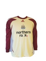 Northern Rock Newcastle United Soccer Jersey Adidas Climacool 365 Youth ... - $29.40
