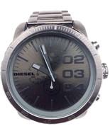 Diesel Advanced Chronograph Grey Gunmetal Ion-plated Mens Watch DZ4215 3 Links.. - £80.73 GBP