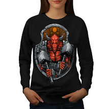 Satan Devil Bull Horror Jumper  Women Sweatshirt - $18.99