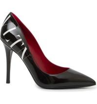 VALENTINO GARAVANI  Logo Pointy Toe Pump Size 35.5 - £386.64 GBP