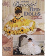 Beautiful Bed Dolls, Crochet Doll Clothing Pattern Booklet ASN 1179 HTF  - $24.95