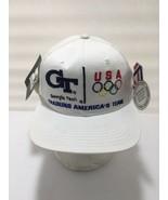 New Vintage 1996 Starter USA Georgia Tech Team Olympic Village Training Hat - $52.25