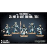 "Games Workshop 99120102066"" Thousand Sons Scarab Occult Terminators - $57.57"