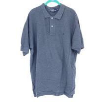 Vintage Polo by Ralph Lauren Gray Pole Shirt Men's Size XL Small Polo Logo - $25.00