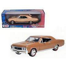1967 Chevrolet Chevelle SS 396 Golden Brown Timeless Classics 1/18 Dieca... - $48.74