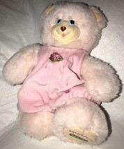Precious Fisher Price Sarahberry #74366 Year 1998 Pink Bear w/ Outfit EU... - $18.80