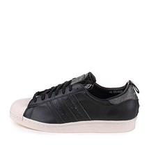 Hommes Adidas Superstar 80s Vh Noir Blanc Q34600 - $99.98