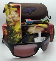 Maui Jim Polarisierte Sonnenbrille Heleakala Mj R 419-02 Schwarz Rahmen mit /