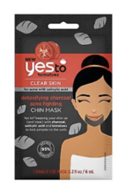 YES to Tomatoes Charcoal Chin Mask for Acne, Detoxifying Charcoal, Singl... - $4.69