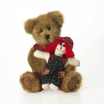 "Boyds Bears ""Matthew w/Milo"" 8"" Plush Bear #91756-34 - NWT - 2011- Retired - $39.99"