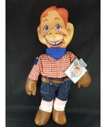 "Howdy Doody Cowboy Cloth Stuffed Plush Rag Doll Large 18""  Applause With... - $22.27"