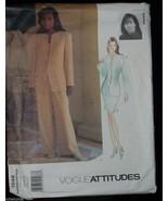Pants Skirt Jacket Top sizes 12 14 16 Suit VOGUE Attitudes Sewing Patter... - $14.00