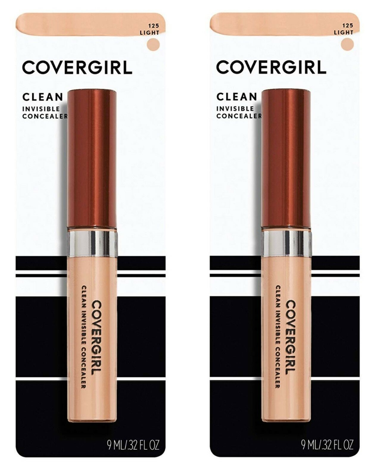 2 Pack - CoverGirl Invisible Concealer - 125 Light - $7.79