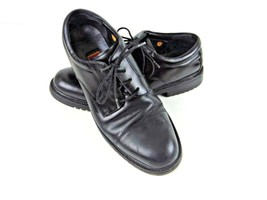 Cole Haan Mens Oxford Shoes Black Size 10M Leather Waterproof - $22.76