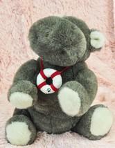 "Boyds Bears Friends ""Hilda B Pottamus"" Hippo Plush Lifesaver Ring Stuffe... - $28.71"