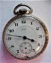 Antique ELGIN 16s Pocket Watch 1916 Parts or repair - $59.00
