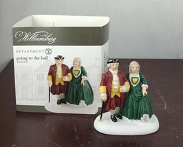 DEPT 56 WILLIAMSBURG VILLAGE Accessory GOING TO THE BALL - $14.03