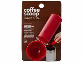 "Red Coffee Scoop Measure Spoon 1/8"" / 2 TBSP / 15 ml  handle extends to ... - £4.58 GBP"