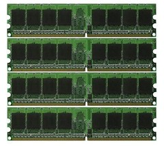 NEW 4GB (4x1GB) Memory PC2-5300 LONGDIMM For Acer Aspire E380 - $24.98