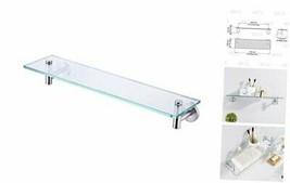 20-Inch Glass Shelf Bathroom Storage Organizer Shelf with 8 MM-Thick Tem... - $47.27