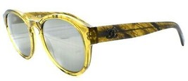 Chanel 5359 c.1568/Y9 Women's Sunglasses Round Olive Yellow / Mirrored I... - $145.43