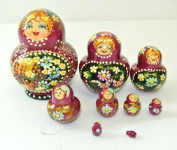 Vintage Russian Doll, 9 layers - Made In Russia - $37.49