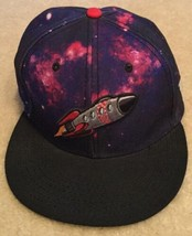 Nike x Caylor & Sons All Star Game H-Town Galaxy 5-Panel Purple SnapBack... - $59.39