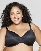 Women's Plus Size Superstar Lightly Lined T-shirt Bra - Auden™ Black 44C - $11.64