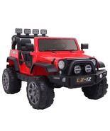 LEADZM lZ-12 Jeep Dual Drive 550*2 With Remote Charger With Light Red - $435.59