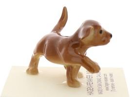 Hagen-Renaker Miniature Ceramic Dog Figurine Golden Labrador Pup image 2