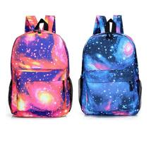 Fashion Galaxy Pattern Unisex Travel Backpack Canvas Leisure Star School... - $19.99