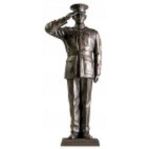 USMC Marine Dress Blue Salute 12'' Inch Salute Series Statues ON SALE fo... - $49.49