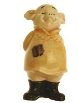 Danbury Mint 9.5cm pig figurine Piggies collection Snout Yeoman - $23.35