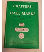 Chaffers' Handbook To Hall Marks On Gold And Silver Plate 1975 - $17.28