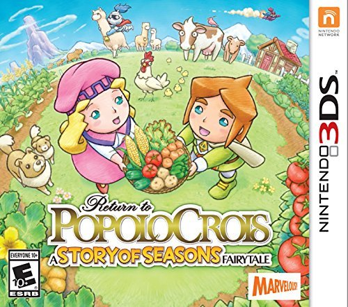 Return to PopoloCrois: A STORY OF SEASONS Fairytale - Nintendo 3DS [video game]