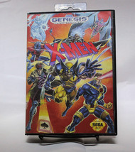 X-Men Sega Genesis With Case Marvel - $24.18
