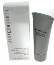 Shiseido Men Shaving Cream - Razor Burn Minimizer -Sample 7ml , In Stock... - $10.00