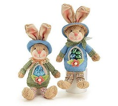 Easter Bunny Candy Easter Bunny Candy Bags Girl & Boy with Clear Acetate... - $23.98