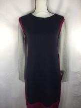 eliza j Women Dress Mul 3 Colors MRSP $98 Exposed Zipper Long Sleeve PS - $60.78