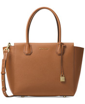 NEW MICHAEL KORS STUDIO WOMEN'S MERCER LG LEATHER SATCHEL BAG LUGGAGE MS... - ₨14,763.73 INR