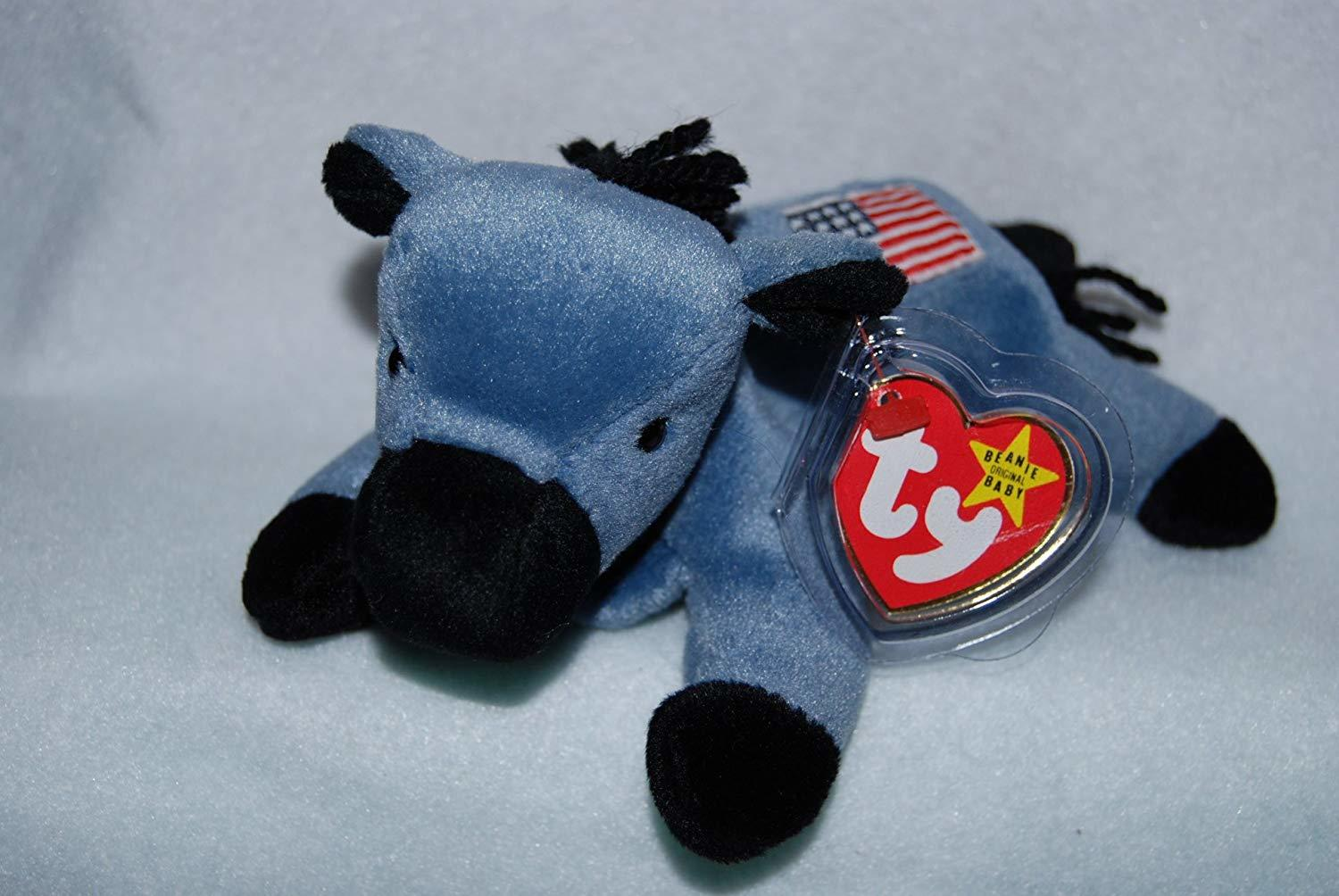 4th Gen hang tag RIGHTY the Elephant Original Release TY Beanie Baby