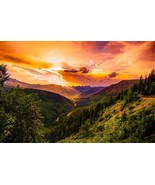 Mountain Sunset -  Art Picture Poster Photo Print 10MNTN - $14.99+